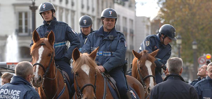 Policier/gendarme à cheval