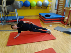 Gainage statique position latérale
