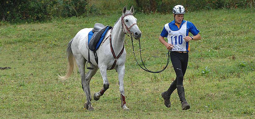 L'homme et le cheval athlètes © A. Laurioux