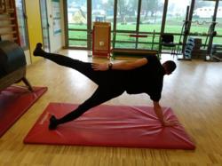 Mouvements de jambes position latérale