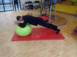 Gainage sur ballon mou 2