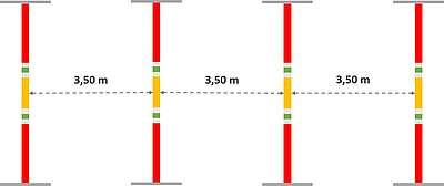 Dispositif du saut de puce à 4 verticaux