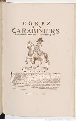 affiche des carabiniers