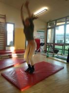 Pompe accroupi saut 3