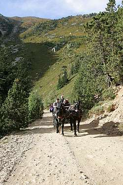 Transport de personnes sur le site touristique du Grand Canigou