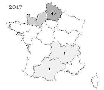 Les poulains Henson nés en France et immatriculés