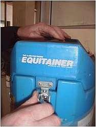 L'Equitainer permet une descente de température à 4°C en 4 à 6 heures des doses préparées
