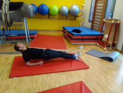 Gainage statique position dorsale