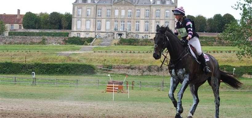 Cavalier aux Jeux Equestres Mondiaux 2014 en Normandie © J. Chevret