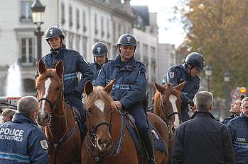 police montée