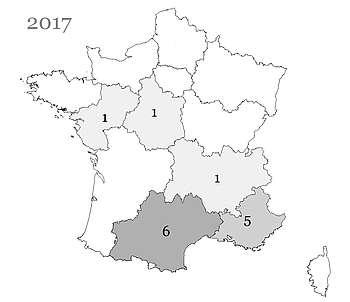 Les poulains Criollo nés en France et immatriculés